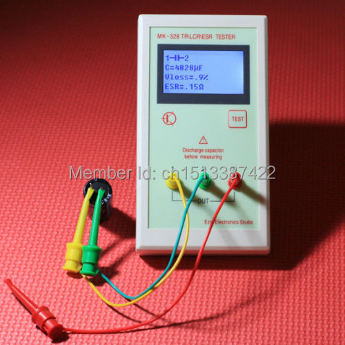 MK-328 TR LCR ESR тестер-транзистор индуктивность емкость сопротивление ESR метр