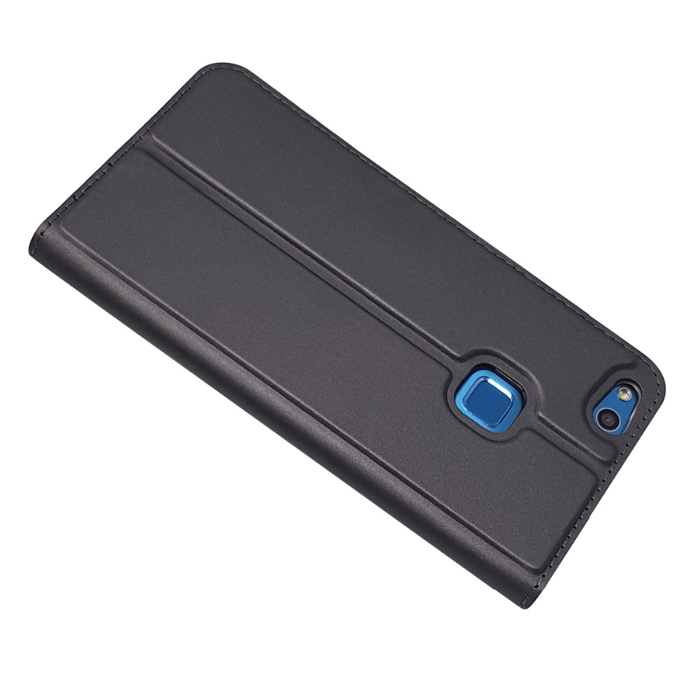 P10 Lite Leather Case Fundas Huawei P10 Lite Case On For Huawei P 10 P10 Plus Coque Magnetic Flip Cover Wallet Phone Cases