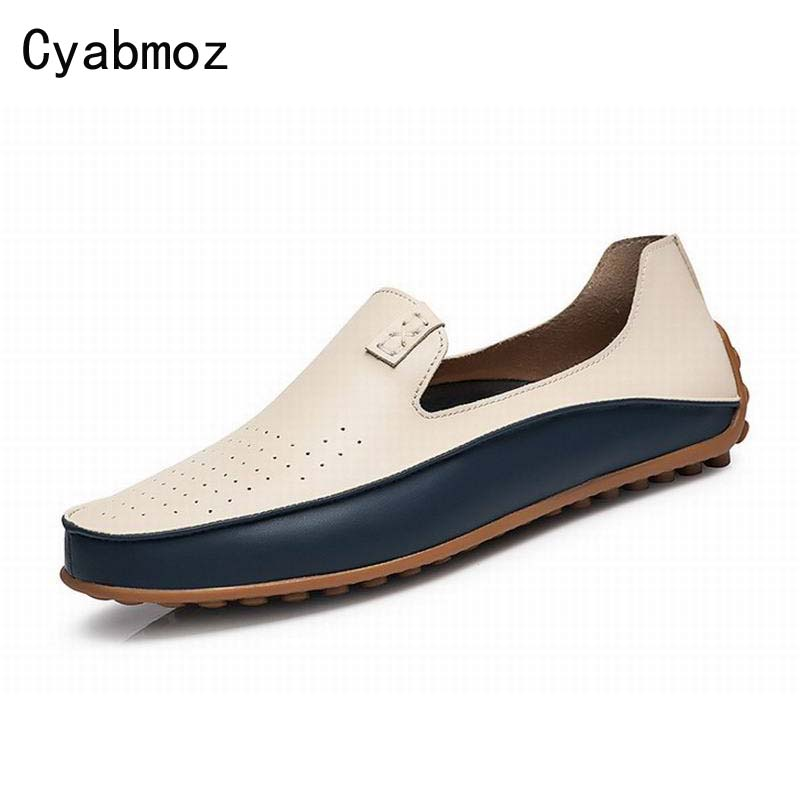 Summer Causal Shoes Men Loafers Moccasins Men Driving Shoes High Quality Flats For Man Shoes big size 45 46 47 zapatos hombre
