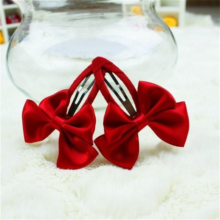 2Pcs New Childrens Cute Red Bow Headdress Baby Hairpin Bowknot Tiara Princess Hair Clips For Children Acessorio De Cabelo T2Pcs New Childrens Cute Red Bow Headdress Baby Hairpin Bowknot Tiara Princess Hair Clips For Children Acessorio De Cabelo T