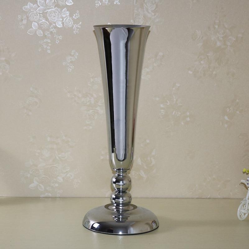 2017 vjenčanje centerpiece stol ukras cvijet vaza prikaz svatove - Za blagdane i zabave - Foto 3