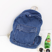 2017 New fashion Women and Men Canvas Japan and Korean Style Washing cowboy Laptop bags Jean