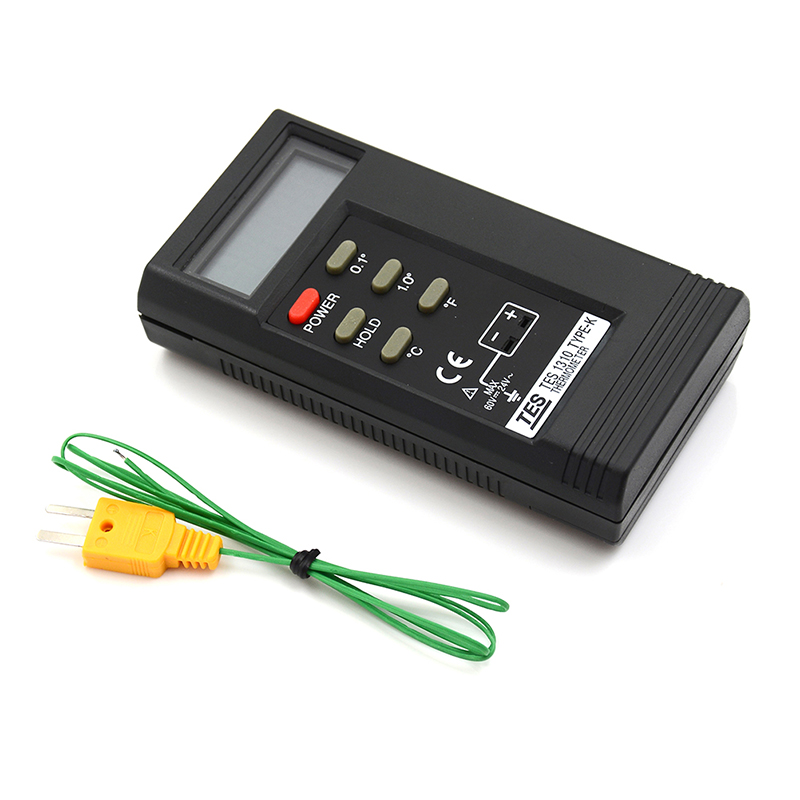 1Set HELTC K Type Tes 1310 Efficient Digital Thermocouple Thermometer New Sale