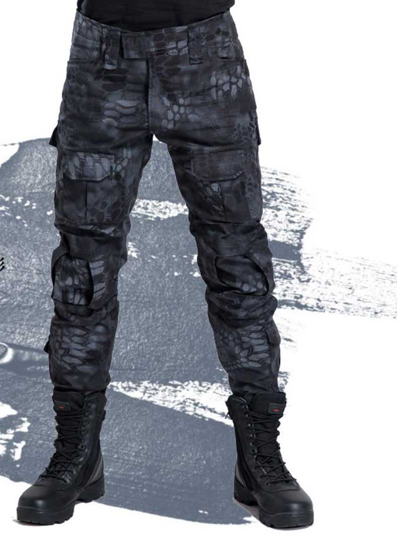 New Waterproof camouflage tactical pants War Game Cargo pants high quality mens trousers Army military Active Pants CM7