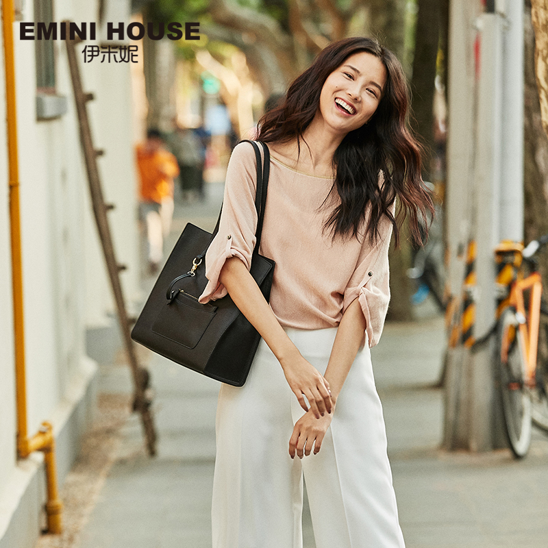 EMINI HOUSE Genuine Leather Cowhide Tote Women's Handbags Bags For Women 2018 Shoulder Bag Female Crossbody Bags For Women emini house tote bag genuine leather women messenger bags shoulder bag handbag women famous brands crossbody bags for lady