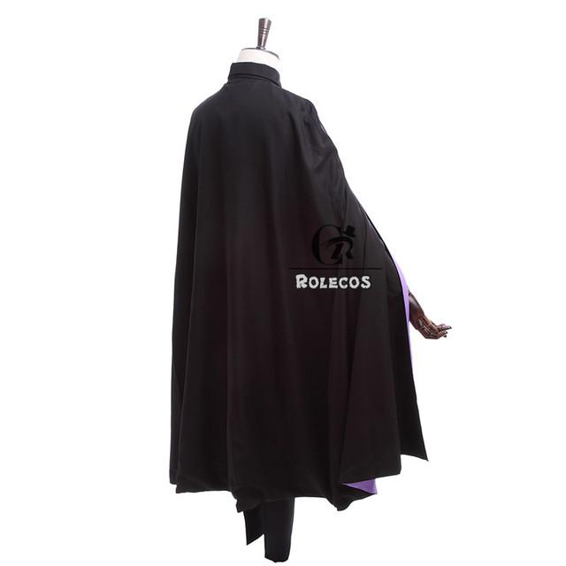 Naruto the Movie Uchiha Sasuke Cosplay Costume With Cloak