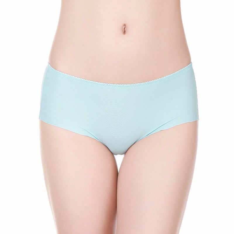 Satu Piece Seamless Es Sutra Musim Panas Keren Gaya Celana Dalam Wanita Celana Dalam Wanita Plus Ukuran 7XL Sexy Lingeries Wanita Celana