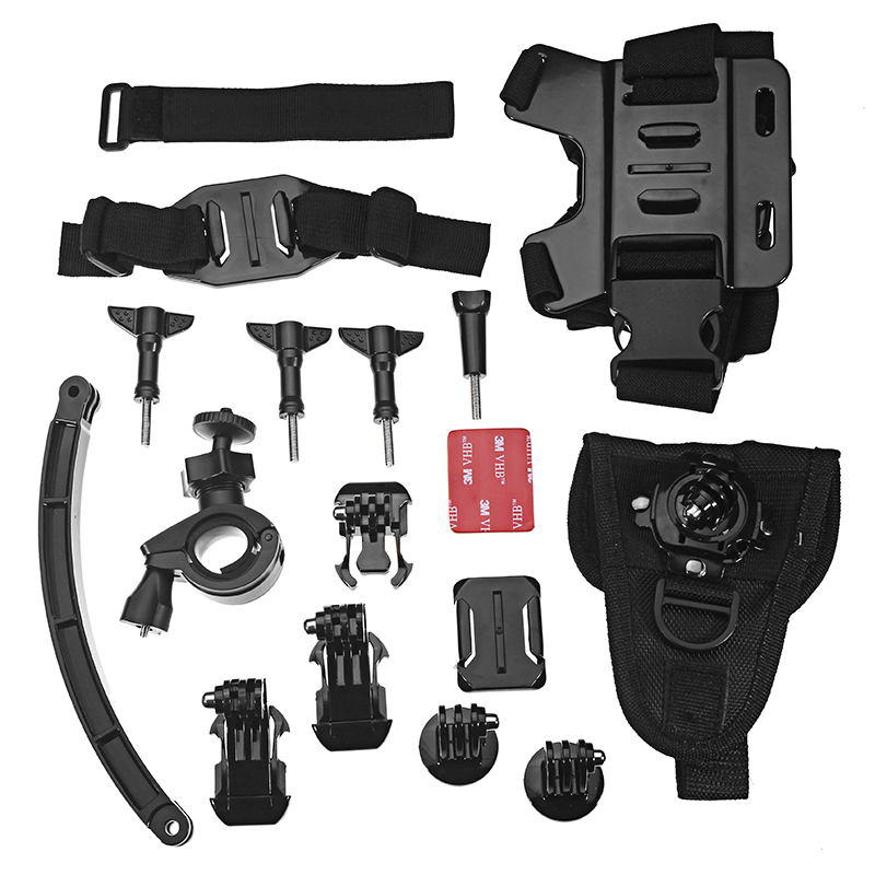 Xiaomi Mijia Mini Sports Video Camera Accessories Outdoor Riding Set w/ Chest Strap/Helmet Belt/Wrist Strap
