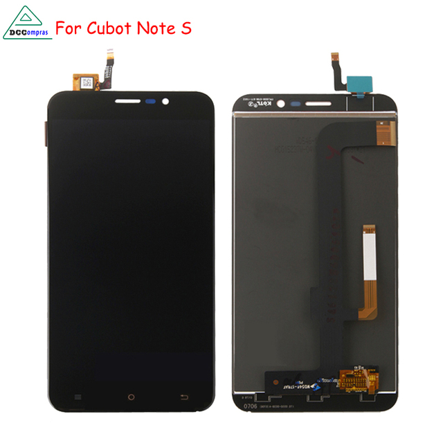 For Cubot Note S Lcd Display Touch Screen Digitizer Mobile Phone Parts Free Tools