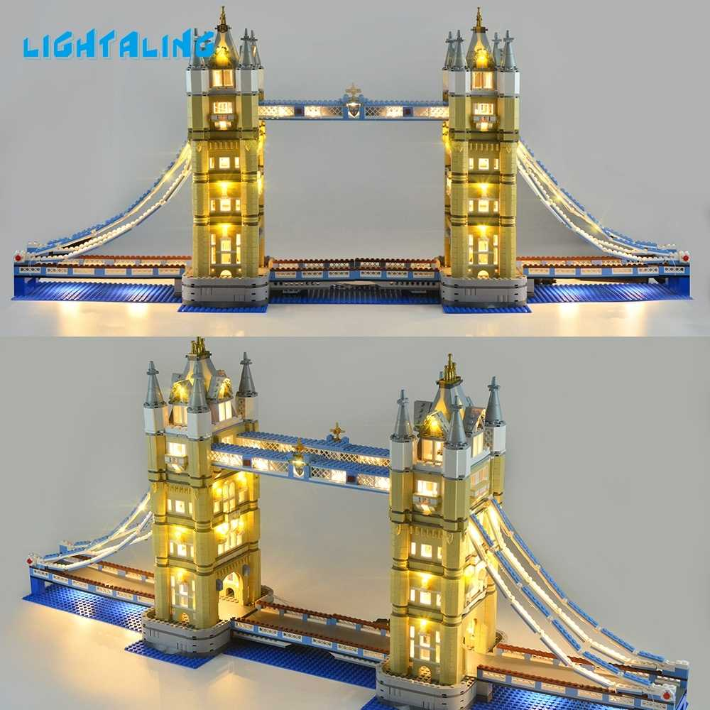 LIGHTALING Architecture London Tower Bridge Light Set LED Light kit  Compatible With 10214 And 17004 (NOT Include The Model)