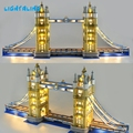 LIGHTALING Architektur London Tower Bridge Licht Set LED Licht kit Kompatibel Mit 10214 Und 17004 (NICHT Enthalten Die Modell)