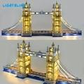 LIGHTALING Architettura London Tower Bridge Set di Luce HA CONDOTTO LA Luce kit Compatibile Con 10214 E 17004 (NON Include Il Modello)