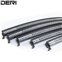 5D 22 32 42 50 52 inch 300/288/240/180/120W Dual Row Curved Led Work Light Bar Combo Beam Offroad Boat Car Truck ATV SUV Led Bar