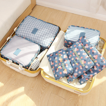 6pcs/set Travel Organizer Storage Bags