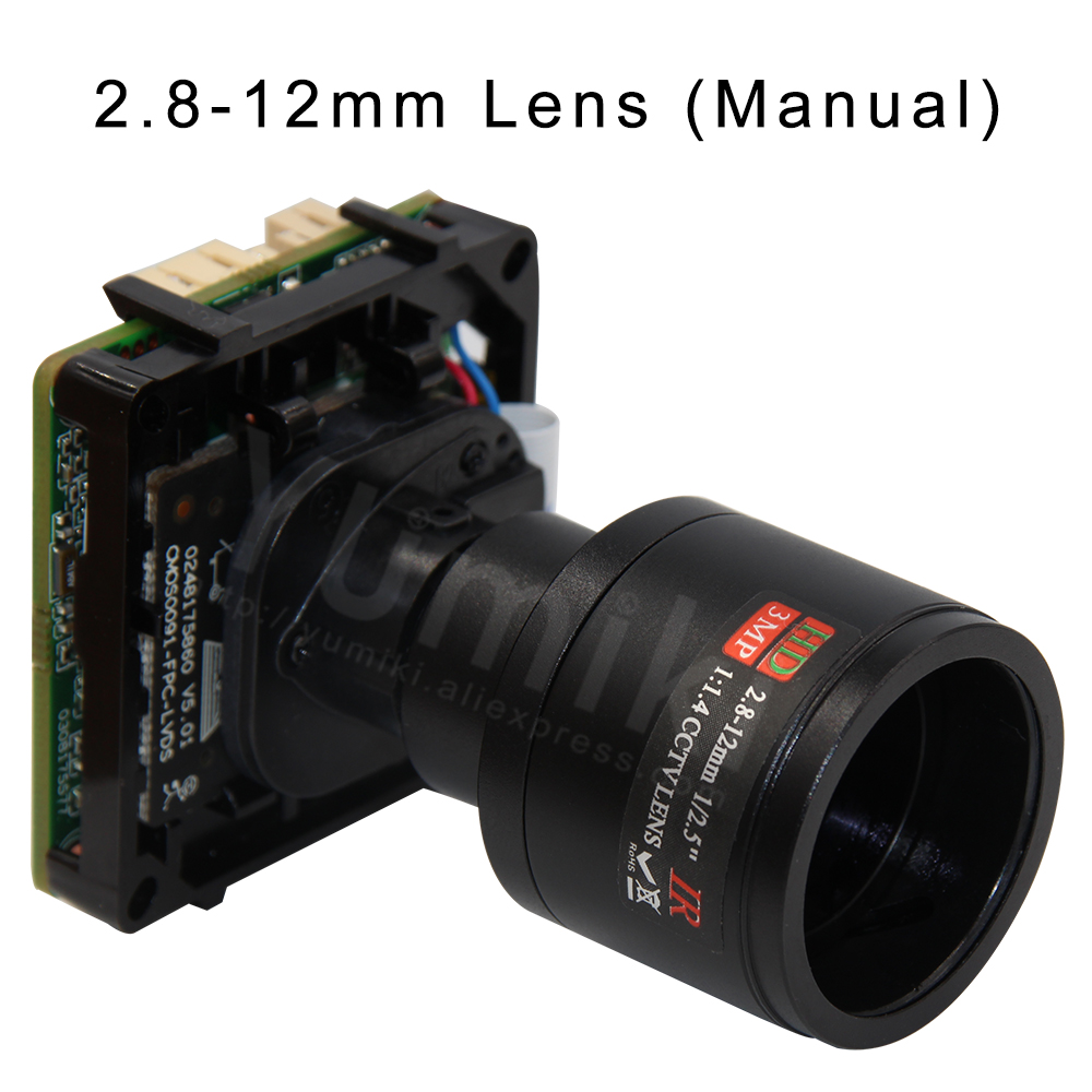 Image 4 - H.265 StarLight 3MP 3516C+Sony IMX291 Intelligent analysis IP Camera Module with Starlight Lens IP camera board ONVIF XMEYE-in Surveillance Cameras from Security & Protection