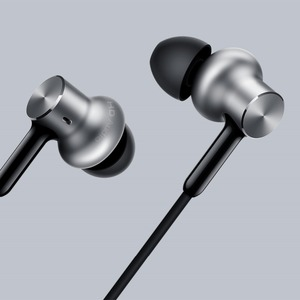 Image 3 - Xiaomi Hybrid Pro HD Earphones Noise Cancelling Xiaomi Mi Earset In ear Circle Wired Control smartphone With Mic Pro HD Original