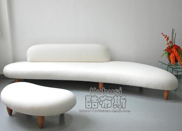 Minimalist Modern Noguchisofa Isamu Noguchi Sofa In The Hotel Lobby Cobblestone Living Room
