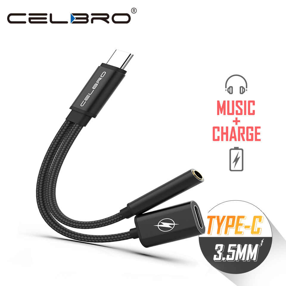 Aux Audio Cable Usb Type C To 3.5mm Jack Earphone Adapter Cable Aux 3.5 Headphone Converter For Xiaomi Mi8 Mi9 SE Samsung Note10