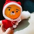Корея какао друзья синий лев плюшевые игрушки рождество лев Райан кукла друга kidz девочка мальчик подарки рождественские подарки бесплатная доставка