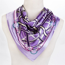free shipping 2015 classic plaid headband  foulard women silk scarf high quality brand silk scarf square satin scarf bandana