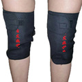 2 Pcs Spontaneous Heating Knee Brace Support Genouillere Protection Therapy Magnetic Belt Black