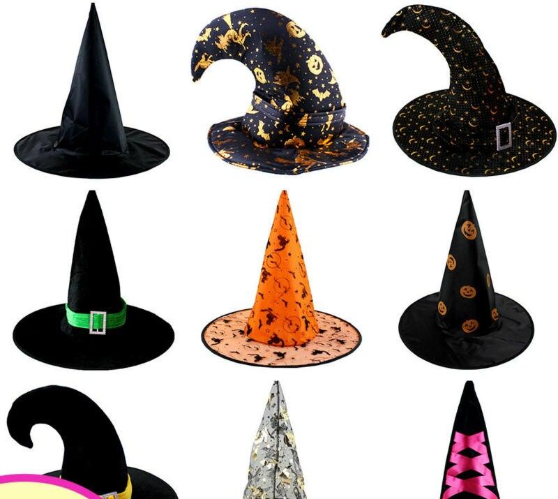 ᗑ】3 unids/lote Halloween partido accesorios todo tipo de sombrero ...