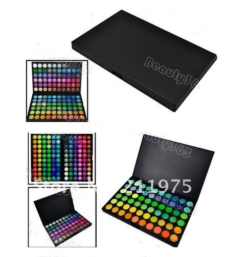Pro Eye Shadow 120 Colors Eyeshadow Palette Fashion Makeup #103 2018