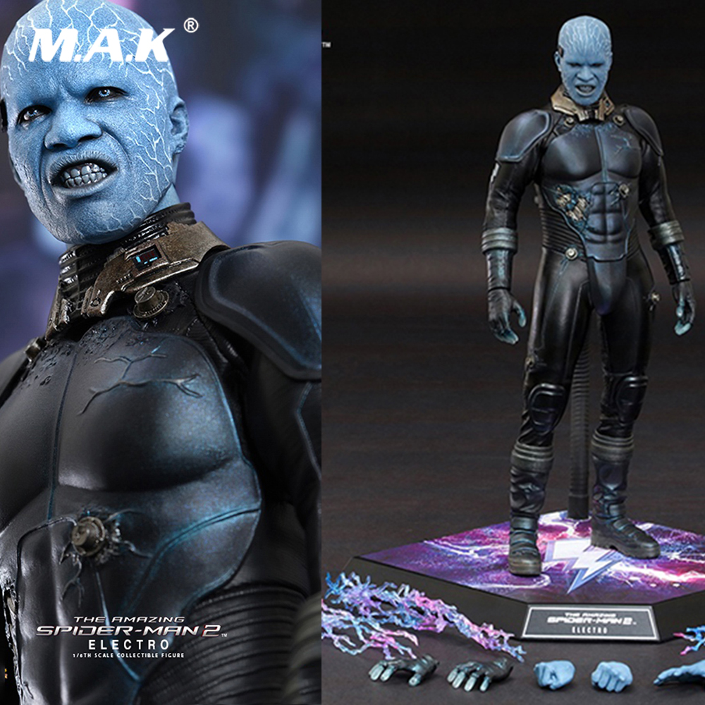 """1//6 scale Hot Toys The Amazing Spider-Man 2 Electro Hand 12/"""" action figure"""