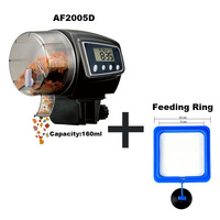 Adjustable Automatic Fish Feeder for Aquarium Fish Tank Digital LCD Auto Feeders with Timer Pet Feeding