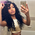 New Arrival Mongolian Kinky Curly Hair With Closure 4 Bundles 7a Unprocessed Virgin Curly Hair With Closure Yvonne Hair Company
