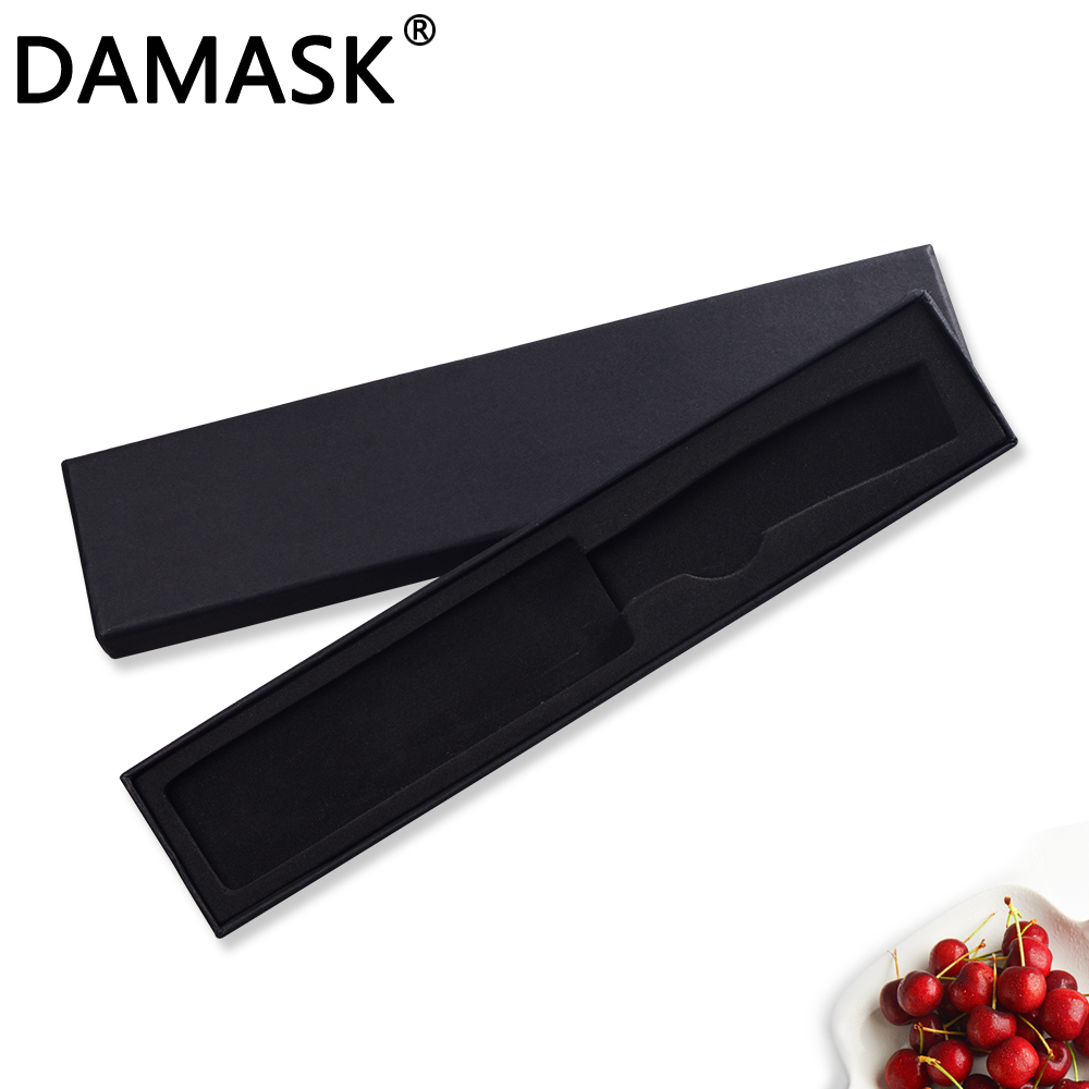 DAMASK Knife Boxes Multifunctional Damascus Kitchen Knives Box Stainless Steel Knives Case Fit To 6/8 Inch Chef Knives Fine Gift