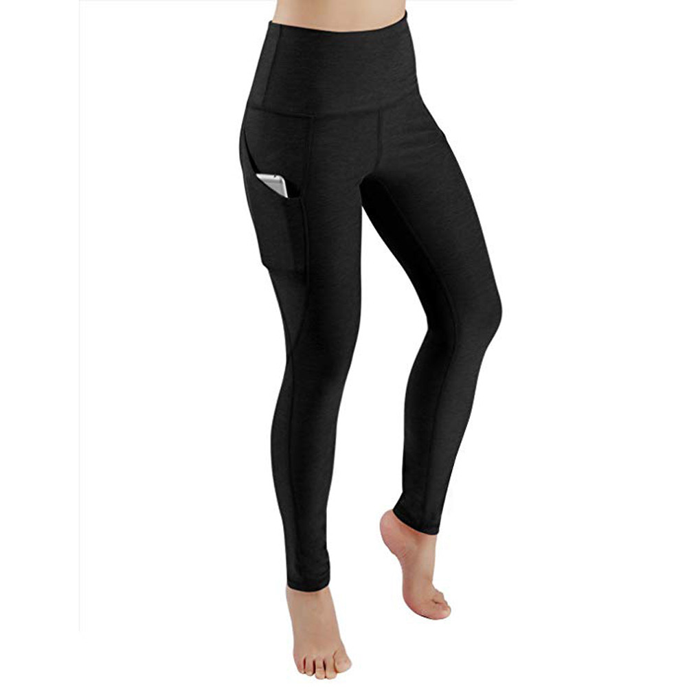1966cb30073b56 Women Leggings Pocket Sports Gym Running Athletic Pants Workout Fitness  Leggings Women Clothes Trousers