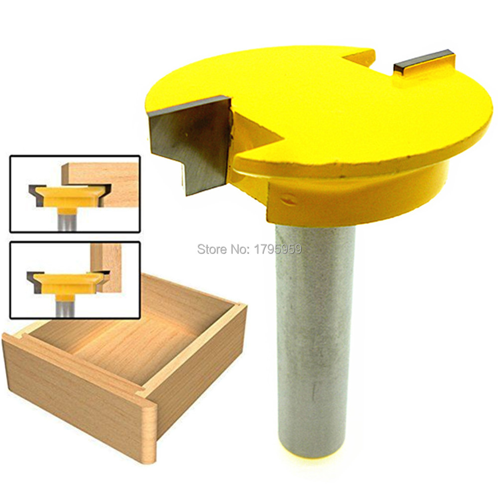 Reversible Drawer Lock Bit Drawer Front Joint Router Bit 1