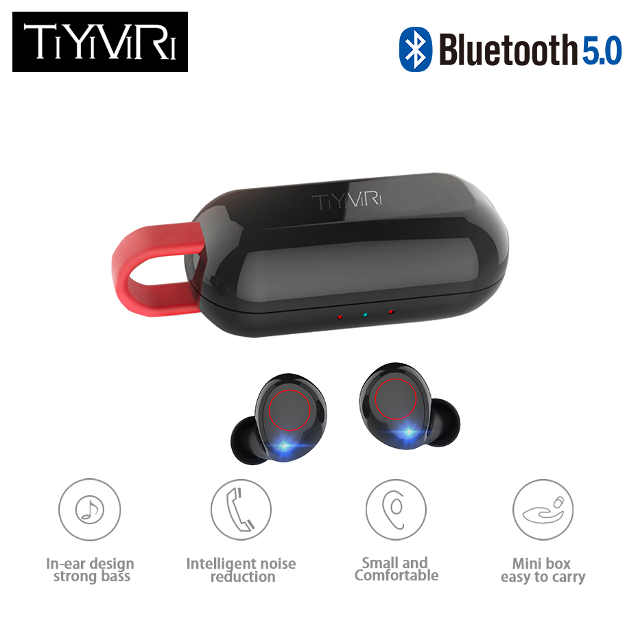 TWS Magnetic Bluetooth Earphone Wireless Headphones Mini Earbuds Sport Handsfree Headset with Charging Box for xiaomi Phone
