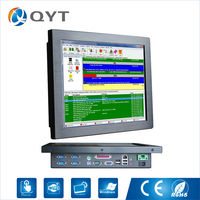 Sunlight Readable AIO Desktop 15 Inch Industrial Pc Intel J1900 2 0GHz 2GB DDR3 32G SSD