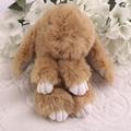 6 дюймов Милый Пушистый Кролик Искусственный Мех Повезло Кулон Новый Горячий!