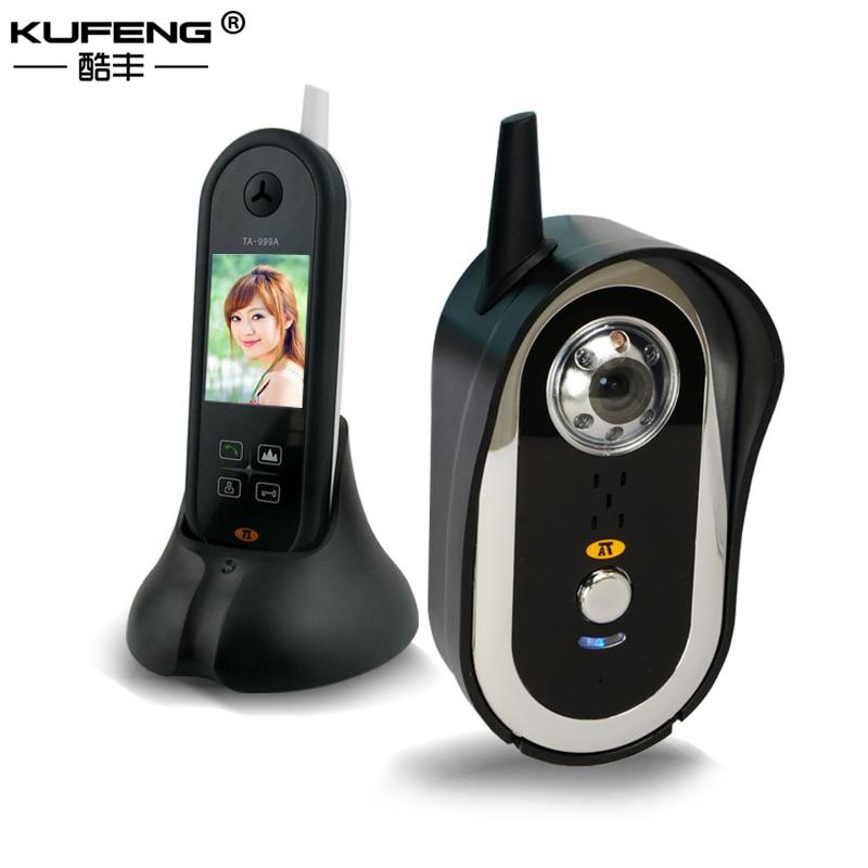 Free Shipping 2017 New Wireless Video Intercom Video Door