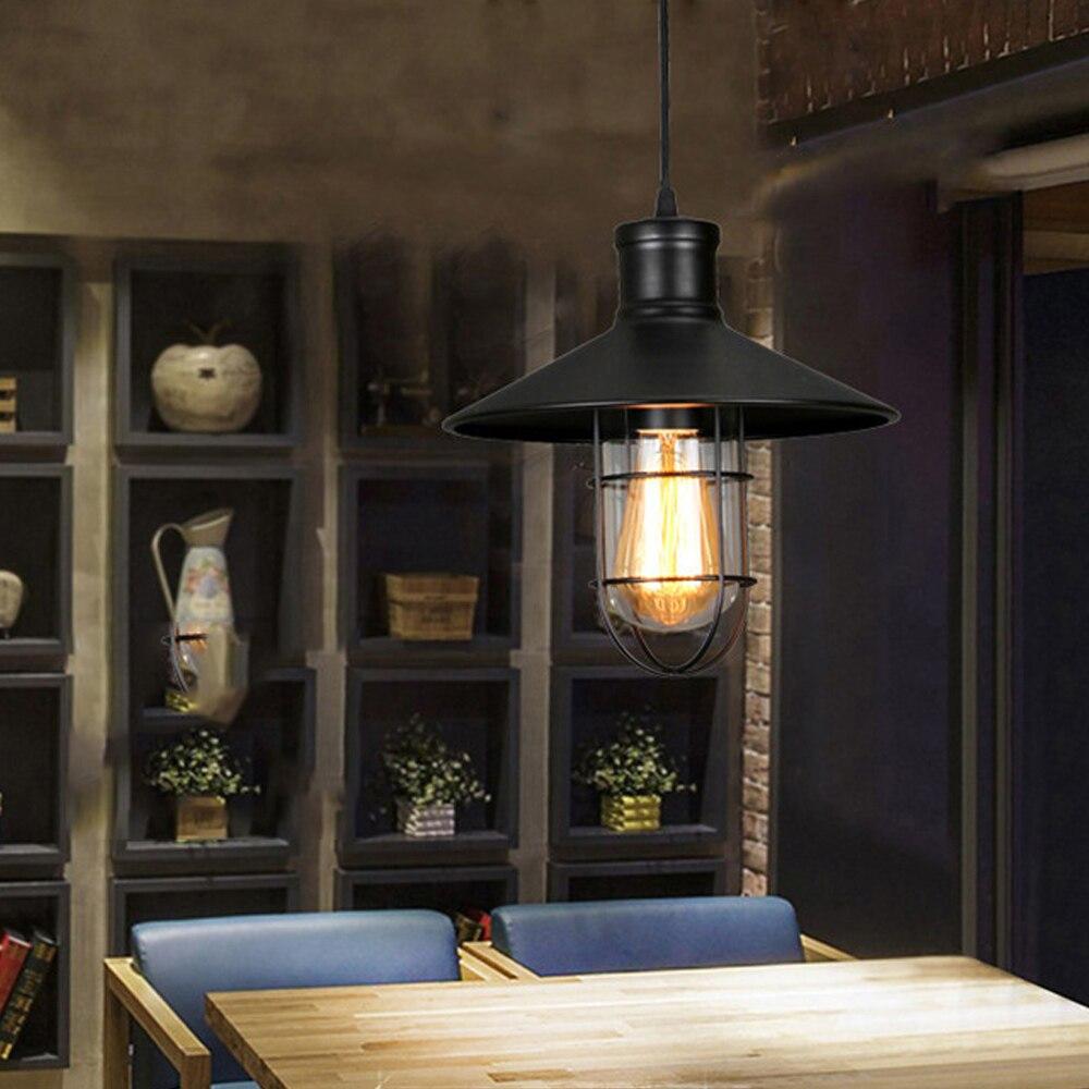 Industrial Lamp Iorn Pendant Lights Luminaire Lighting