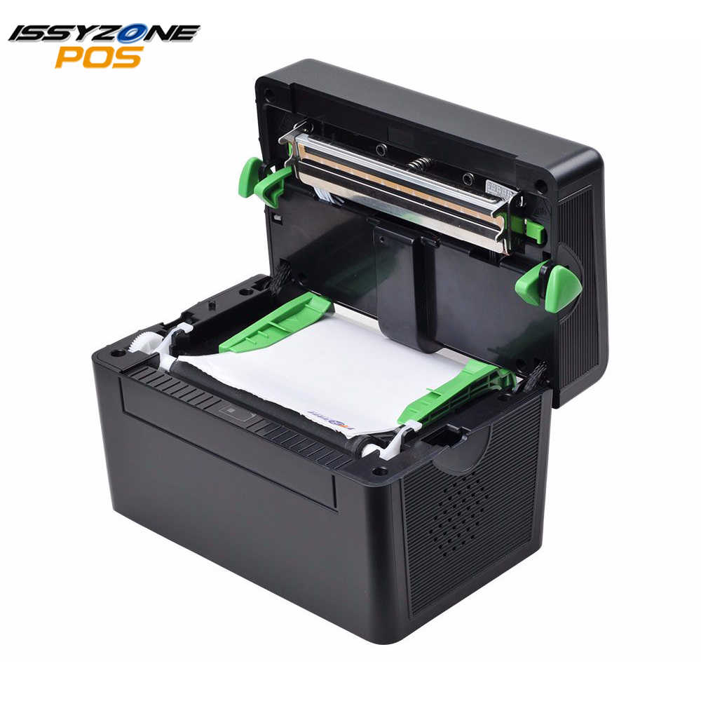 ITPP072 Alta Qualidade 108 milímetros 4 polegada Porta USB Impressora de Código De Barras Etiqueta Térmica Entrega Logística Tranporte supermercado software livre