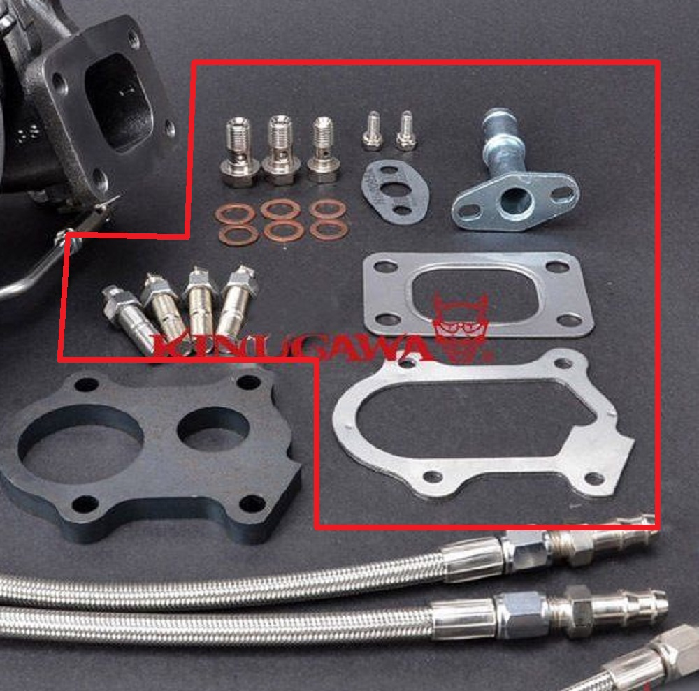 Kinugawa Turbo Install Parts for IVECO DAILY 2.8L 49377-07000 TD04L TurboKinugawa Turbo Install Parts for IVECO DAILY 2.8L 49377-07000 TD04L Turbo