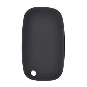 Image 4 - Silicone Car Key Cover Case Shell Fob For Renault Clio Megane Kangoo Modus Flip Remote Key Case 2 Button