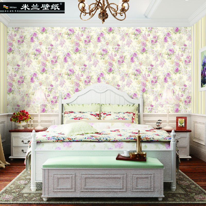 MILAN 2018 New 3d Wallpaper for Walls in Rolls European Floral Wallpapers for Living Room Wall Papers Home Decor Rural Mural Hot shinehome brick wallpapers rolls rose floral 3d room wallpaper for walls 3 d livingroom floral abstract wall mural roll paper