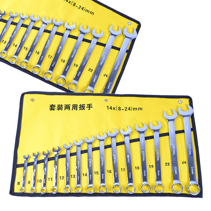 Free shipping high quality 14pcs combination wrench set. Wrench set hardware tool sets high quality screwdriver combination set unique telescopic function