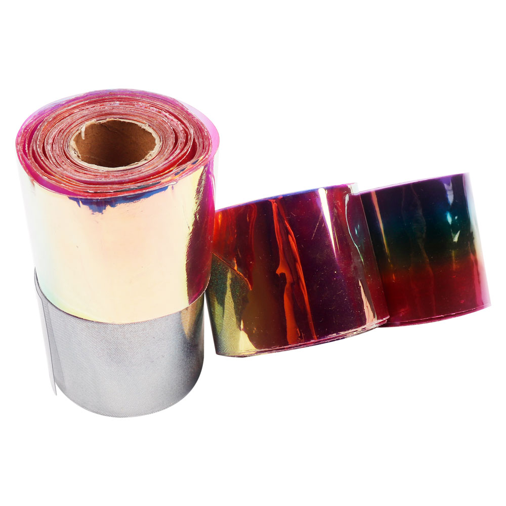 2Y Bag Transparent Ribbons Rainbow Jelly Ribbon Laser Fabric PVC Ribbon For Bows DIY Home Decorative Handmade Crafts Material in Ribbons from Home Garden