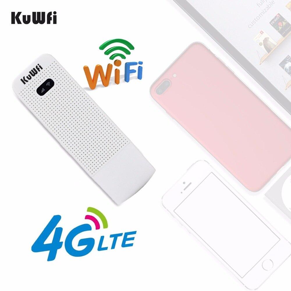 <font><b>KuWfi</b></font> Unlocked 4G <font><b>Modem</b></font> LTE Network Hotspot