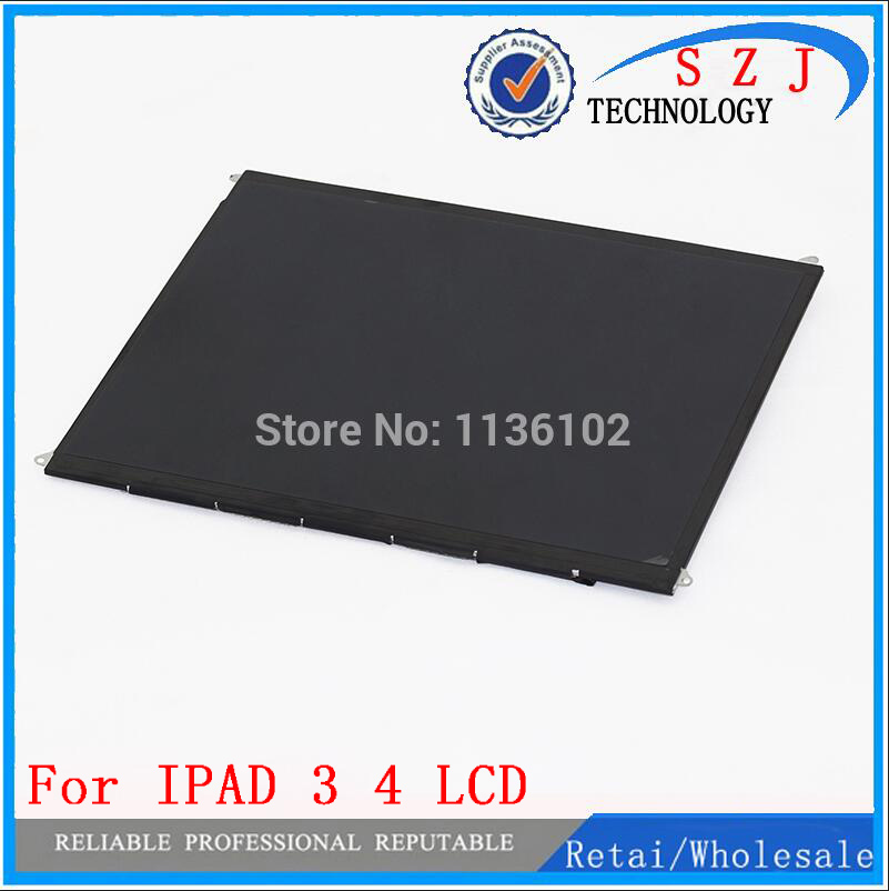 ФОТО New 9.7 inch LCD Screen LP097QX1 LTN097QL01 Brand New Grade A Inside LCD Screen For IPAD 3 4 3rd 4th LED 2048x1536 Free Shipping
