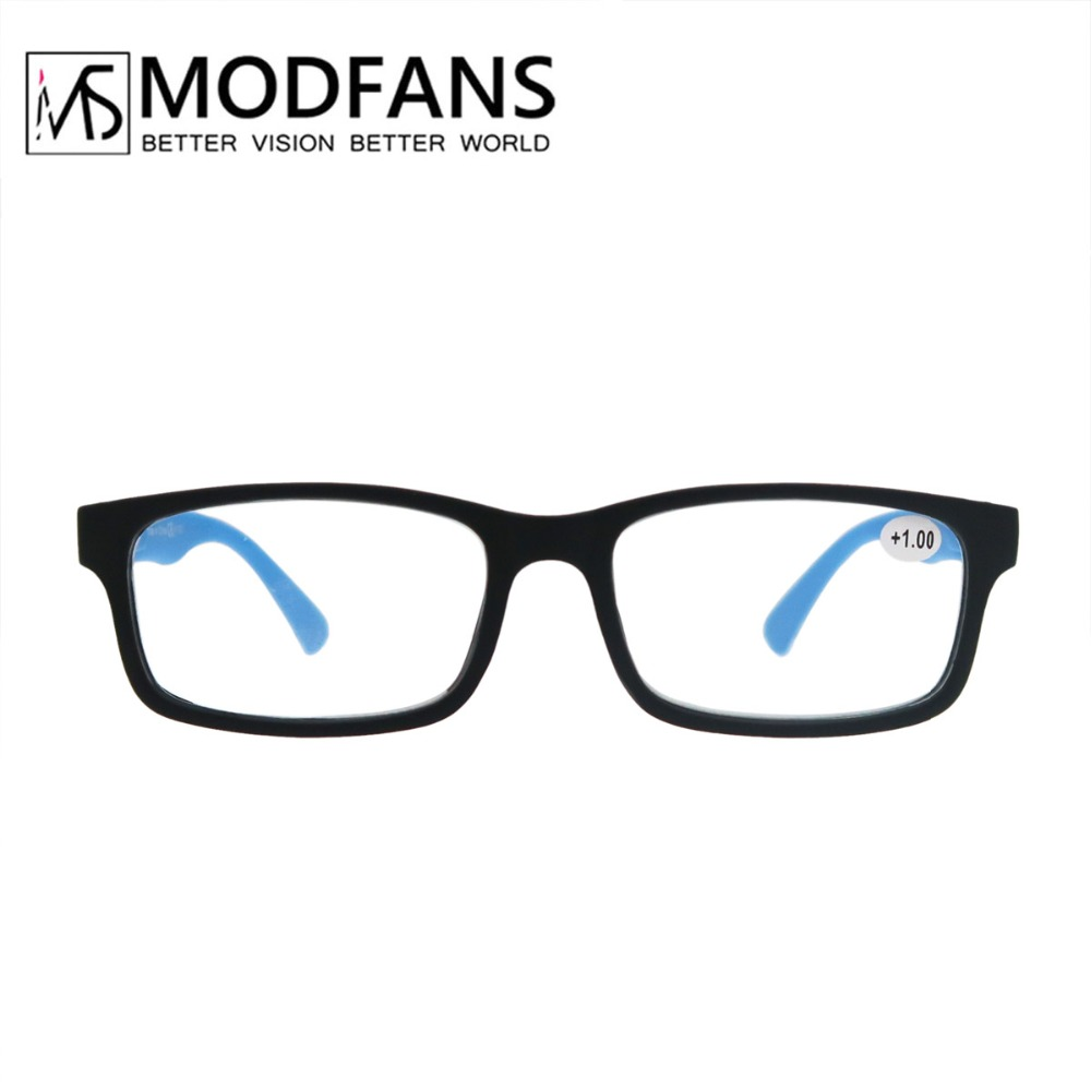 Unisex Men's Reading Glasses for Woman Rubber Comfy Touch Ultra Light Hyperopia Gift for Parents with degree+1+1.5+2+2.5+3+3.5 1