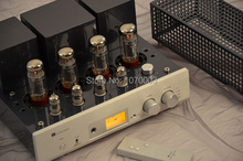 MUZISHARE X5 Integrated vacuum tube amplifier EL34x4 do AB1 push-pull amplifier 15~35W TR~UL switch 110V/220V good sound