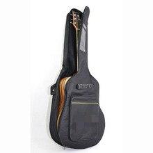 Aotian грузовые бесплатно 36 дюймов Водонепроницаемый Мешок Гитара, высококачественный водонепроницаемый холст народная гитара случаях, практичный гитара рюкзак