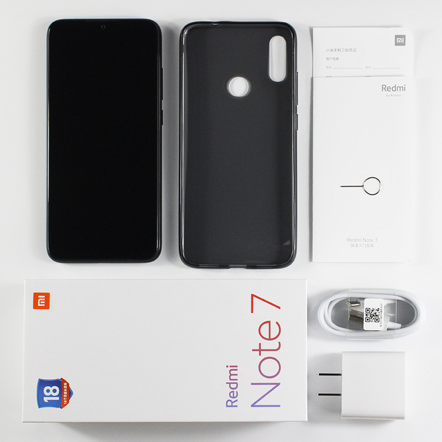 "In Stock Global ROM Xiaomi Redmi Note 7 6GB RAM 64GB ROM Smartphone Snapdragon 660 6.3"" Screen 48MP Rear Camera 4000mAh Battery 4"